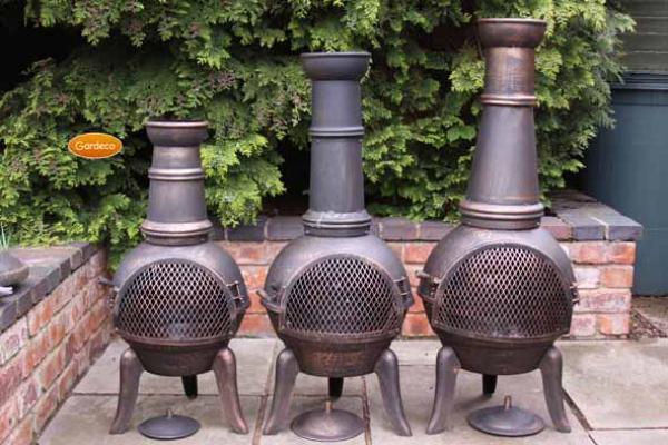 trou a feu cheminée aluminium