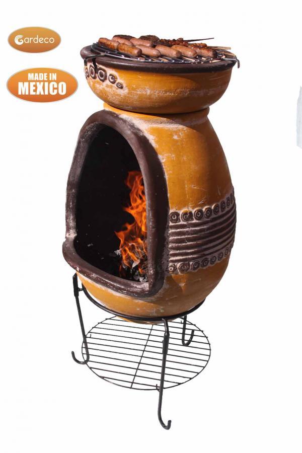 Poêle-cheminée grille noir SOUFFLET Feu Chaleur Gants briques dos Barbecue ciment